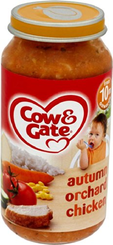 Cow & Gate 10 Month Autumn Orchard Chicken Jar 250g