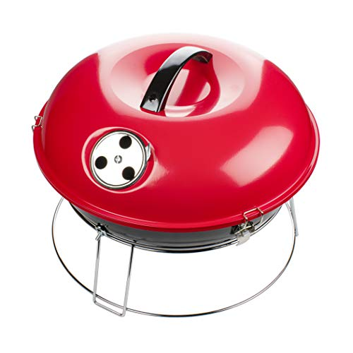 Brentwood Appliances BB-1400R 14-Inch Portable Charcoal Grill (Red)