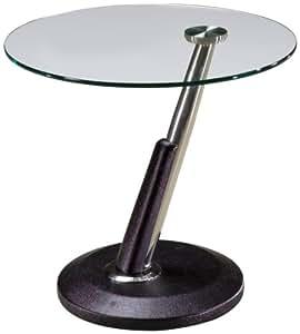 Magnussen Modesto Metal Round End Table