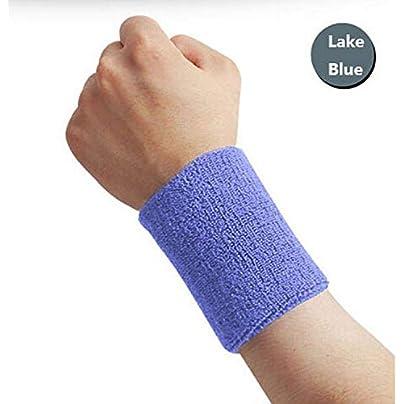 7 5Cm Cotton Elastic Bandage Hand Sport Wristband Gym Support Wrist Brace Wrap Fitness Tennis Sweat Band Estimated Price £8.39 -