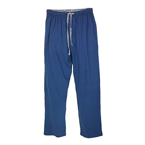 Para Pijama Hombre Hanes Azul De Básico Pantalón 0PIwU