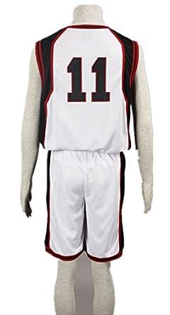 73e2208adfa Amazon.com: Love Anime Cosplay Costume Uniform Clothes-Tetsuya No.11 Seirin  Basketball Uniforms: Clothing