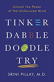 Tinker Dabble Doodle Try: Unlock the Power of the Unfocused Mind by [Pillay, Srini]