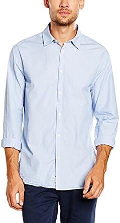 Pepe Jeans London Camisa Hombre Olson Azul Celeste: Amazon.es ...