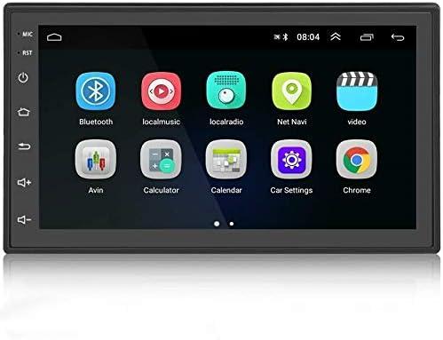 Radio 2 DIN Android GPS Podofo 7 Pulgadas Capacitiva Pantalla táctil Completa WiFi FM Radio Coche Bluetooth Pantalla de Espejo para teléfonos iOS con ...