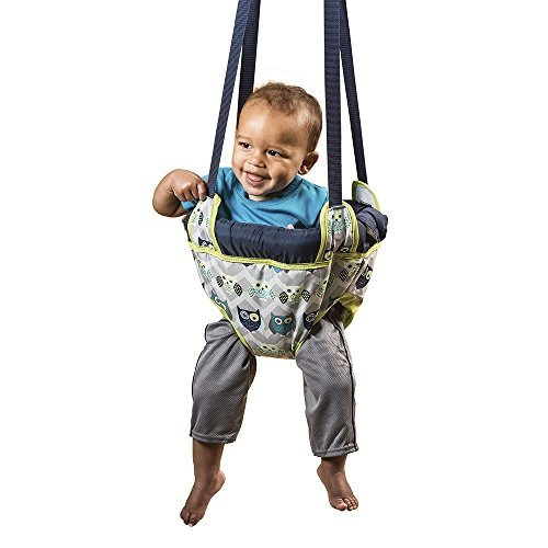 Evenflo Exersaucer Door Jumper Adjustable Baby Bouncer Doorway Fun Swing Jump Seat Owl 100% Kids Safety, Strong *Quality Products**Fast Shipping*