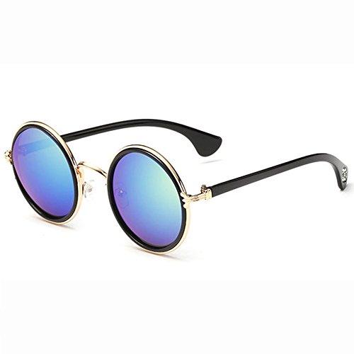 Prince Sol Los K Unisex De Ojos De Colored Sol Mirror Vintage De Ciclismo De Windproof H Gafas Reflective Moda Gafas Eyeglasses Gafas Round Informal Cuidado pzRWSOR