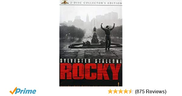 Amazon.com: Rocky (Two-Disc Collectors Edition): Sylvester ...