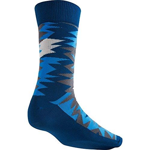 Air Jordan VII Sneaker Crew Chaussettes pour homme Bleu/université Bleu/blanc 642211-442