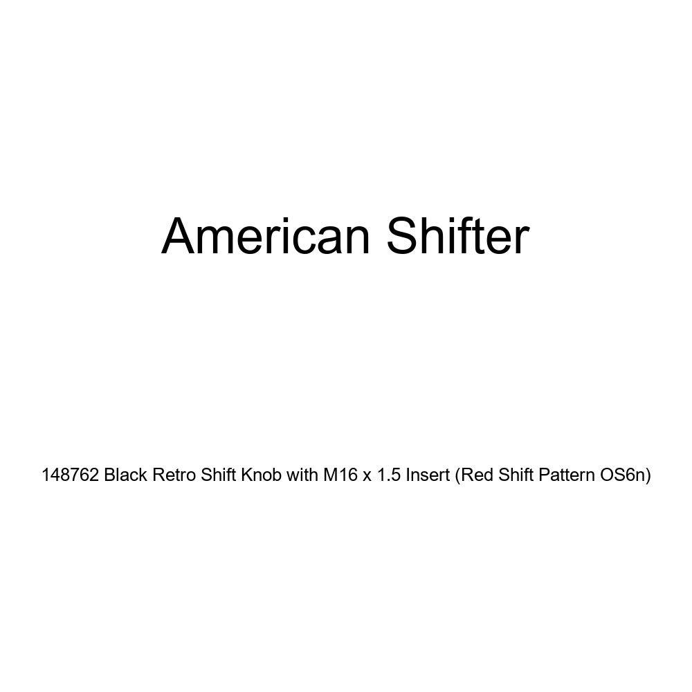 Orange DAF Logo Black Retro Metal Flake with M16 x 1.5 Insert American Shifter 287521 Shift Knob