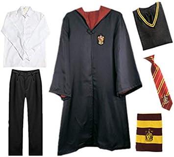 Harry Potter Kostüm Kinder Damen Herren Gryffindor Umhang Schal Krawatte Hüte DE