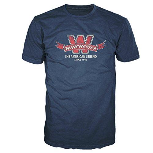 Winchester Vintage Banner Art Men's Graphic T-Shirt In Premium Edition Super Soft Tee