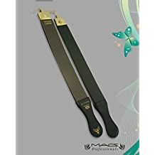"""Professional Quality Gold Sharpening Strop Made of Real Leather 2"""" Wide and 22"""" Long Macs Brand-2012"""
