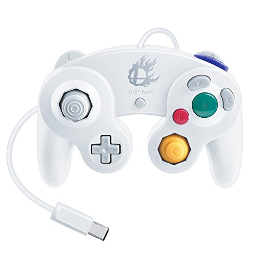 Nintendo Super Smash Bros. White Classic Gamecube Controller (Best Japanese Gamecube Games)
