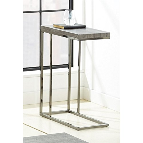 Steve Silver Company Lucia Chairside End Table, 10