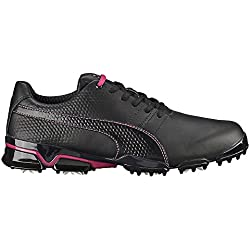 Puma Titantour Ignite Men's 2016 Golf Shoes Titan Tour, Black/Beetroot Purple, 12 M US