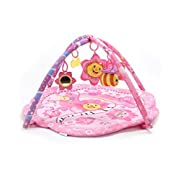 Big Oshi Pink Flower Music Party Activity Play Mat