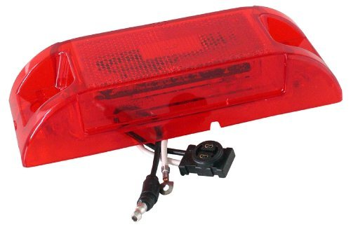 (Truck-Lite Model 21 Marker & Clearance PC Rated LED Sealed Red 21051R)