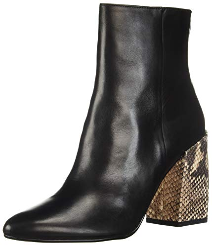 Dolce Vita Women's COBY Ankle Boot, Black Leather, 7.5 M ()