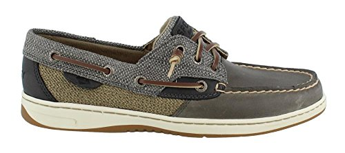 Sperry Mujeres, Rosefish Slip On Boat Shoe Gris Con Textura 9 M