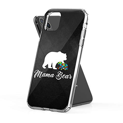 Case Phone Unisex Mama Bear with Color Baby for Day (6.1-inch Diagonal Compatible with iPhone 11) (The Best Of Frank Zappa 2019)