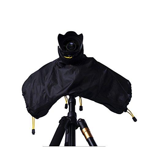 Digital Camera Lens Protector - FOSOTO Camera Rain Cover Protector Rainproof for Canon EOS Rebel T6 T6i T5 T4 7D XT XTi 1200D 700D 750D,Nikon D3400 D3300 D3200 D3100 D5600 D5500 D5200 D60 D7200,Sony Olympus Fuji Digital SLR Camera