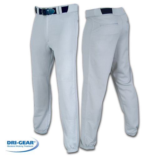 (CHAMPRO Men's Sports Pro-Plus Baseball Pants, White, Large )