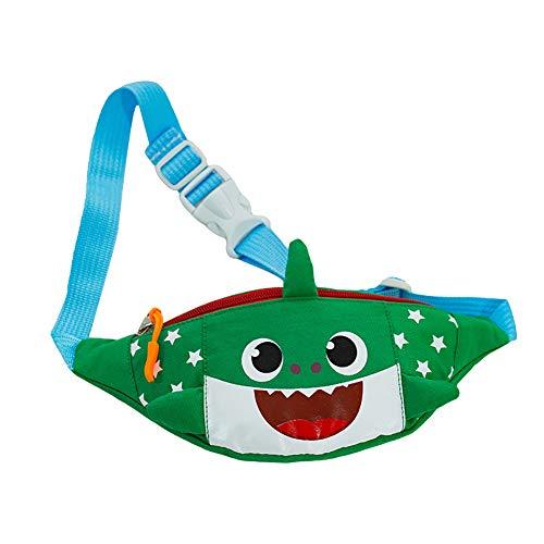 Y Lona Para Riñonera Verde Ajustable Bolsa Linda Tiburón Con Diseño Correa De Mujer Ff6qp