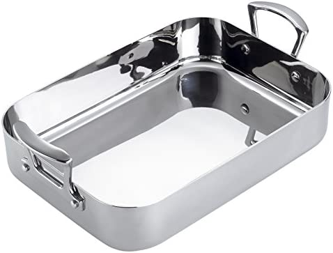Scanpan Fusion 5 13-3 4-Inch-by-9-1 4-Inch Roasting Pan