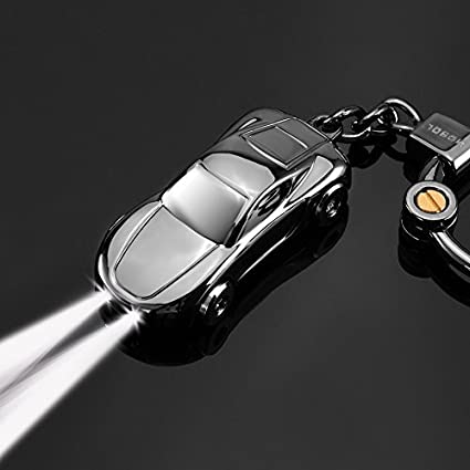 Amazon Com Keychain Flashlight Jobon Car Key Chain Flashlights