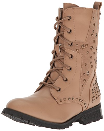 Gia-Mia Dancewear Kids' Big Girl's Star Studded Combat Boot
