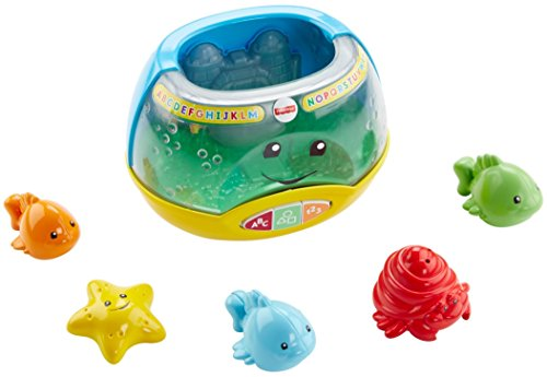 41KqD0T%2Bs%2BL - Fisher-Price Laugh & Learn Magical Lights Fishbowl