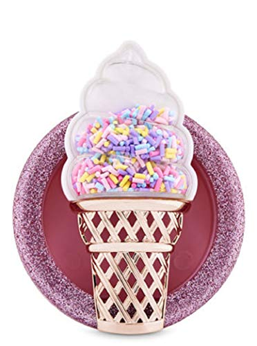 Bath Body Works Scentportable Car Visor Clip Sprinkles Ice Cream Cone ()