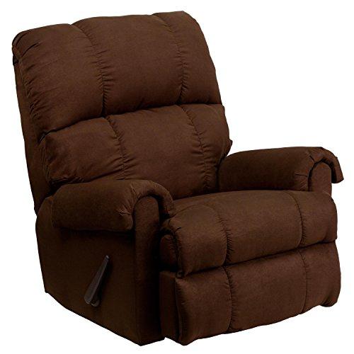 Furniture Outlet Arkansas (Flash Furniture Contemporary Flatsuede Chocolate Microfiber Rocker Recliner)