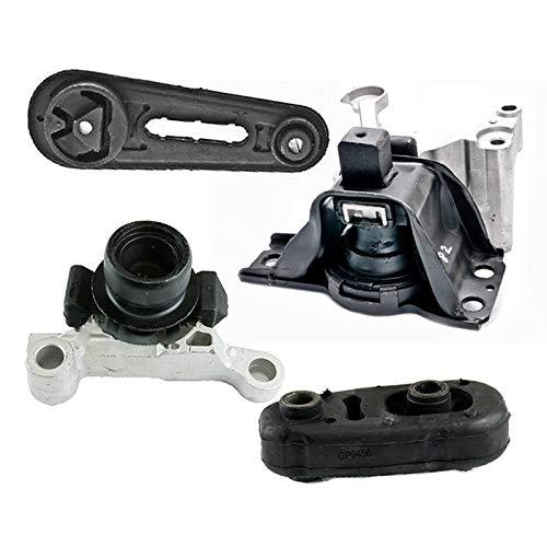 K2304 Fits 2007-2012 Nissan Sentra 2.0L w/AUTO CVT Motor & Trans Mount Set 4pcs : A4348, A4345, A4318, A4346 ()