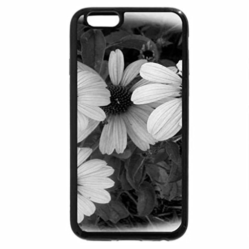 iPhone 6S Plus Case, iPhone 6 Plus Case (Black & White) - Pink and Preety