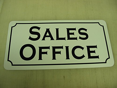 SALES OFFICE Vintage Style Metal Sign Decor by SuperSigns