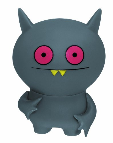 UglyDoll Series 2 Poe Gray Action Figure (Uglydoll Action Figures Series)