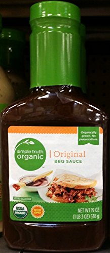 Simple Truth Organic BBQ Sauce 19 oz