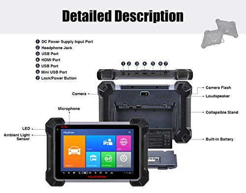 [해외구매대행 $2,639 00] Autel (Maxisys Pro) MK908P Automotive Diagnostic Scan  Tool Advanced Full System Scanner with ECU Coding and J2534 ECU Programming