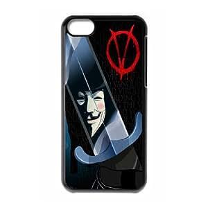 [StephenRomo] For Iphone 5c -V For Vendetta PHONE CASE 1