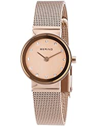 BERING Time 10122-366 Womens Classic Collection Watch with Mesh Band and scratch resistant sapphire crystal. Designed...