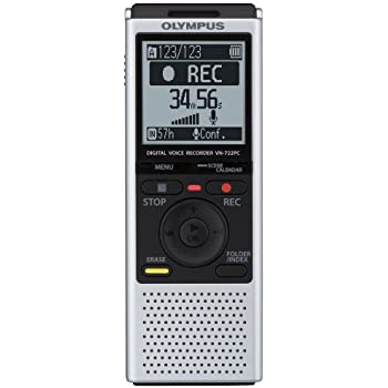 amazon com olympus vn 722pc voice recorders 4 gb built in memory rh amazon com Olympus VN -702PC Voice Recorder Olympus Voice Activated Recorder