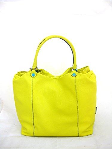 GABS - Bolso de asas de Piel para mujer amarillo amarillo