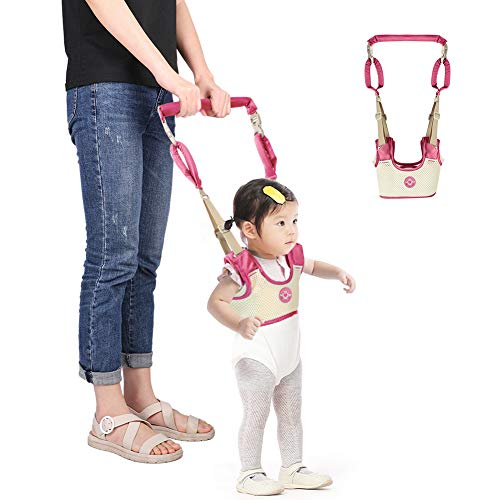 Accmor Baby Walking Harness Assistant Handheld Toddler Walker Stand Up Walking Learning Helper for Infant Child, Adjustable Breathable Pulling and Lifting Dual Use from Accmor