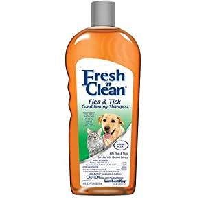 Fresh'n Clean Flea and Tick Small Pet Conditioning Shampoo, 18-Ounce 36