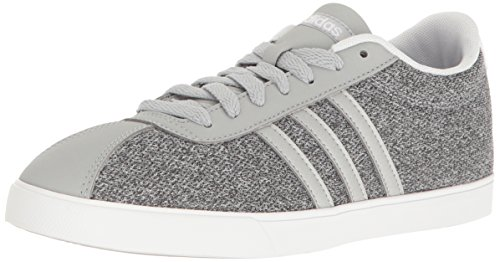adidas Women's Shoes | Courtset Fashion Sneakers, Clear Onix/Silver/White, (8.5 M US)