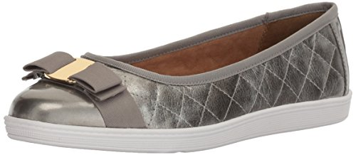 Soft Style Womens Faeth Fabric Closed Toe Pewter sXcPs