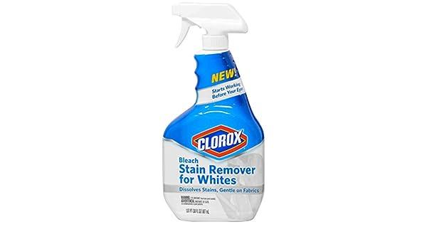 Clorox Bleach Stain Remover Spray, 30 Ounce by Clorox: Amazon.es: Salud y cuidado personal