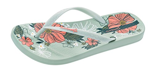 Footbed Petal Women's Ivory Patterned Ipanema Flip Flops wXBWaaq5